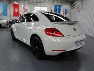 2013 Volkswagen Beetle 1L MY13 Coupe White 6 Speed Manual Liftback