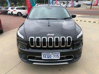 2015 Jeep Cherokee KL MY15 Limited (4x4) Black 9 Speed Automatic Wagon