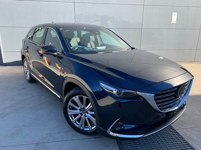 New Mazda CX-9 TC Azami SKYACTIV-Drive i-ACTIV AWD Alexandria, 2021 Mazda CX-9 TC Azami SKYACTIV-Drive i-ACTIV AWD Deep Crystal Blue 6 Speed Sports Automatic Wagon