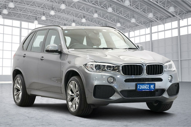 Used BMW X5 F15 xDrive30d Victoria Park, 2014 BMW X5 F15 xDrive30d Grey 8 Speed Sports Automatic Wagon