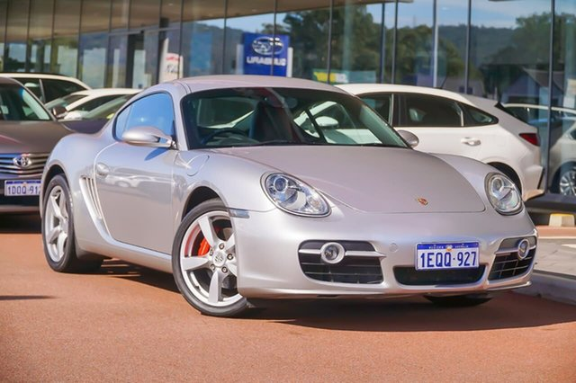 Used Porsche Cayman 987 S Gosnells, 2006 Porsche Cayman 987 S Silver 5 Speed Sports Automatic Coupe