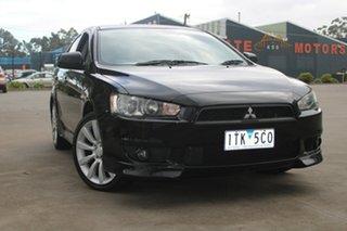 2010 Mitsubishi Lancer CJ MY11 VR-X 6 Speed CVT Auto Sequential Sedan.