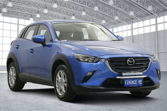 Used Mazda CX-3 DK2W7A Maxx SKYACTIV-Drive Victoria Park, 2018 Mazda CX-3 DK2W7A Maxx SKYACTIV-Drive Blue 6 Speed Sports Automatic Wagon
