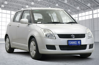 2010 Suzuki Swift RS415 Silver 4 Speed Automatic Hatchback.
