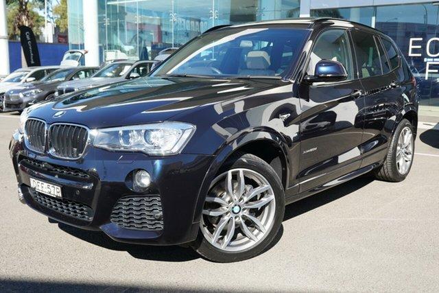 Used BMW X3 F25 MY16 xDrive20d Brookvale, 2016 BMW X3 F25 MY16 xDrive20d Carbon Black Metallic 8 Speed Automatic Wagon