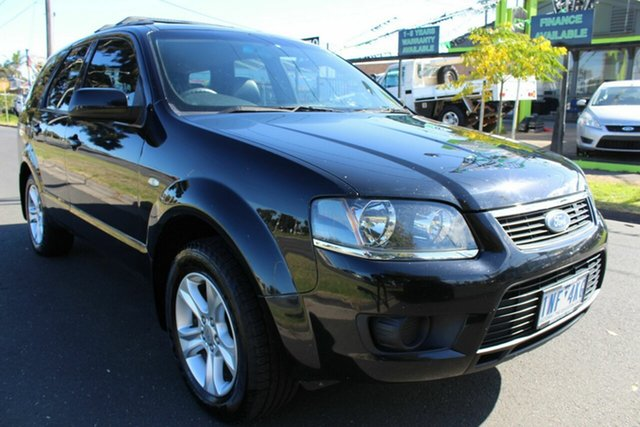 Used Ford Territory SY MkII TS AWD West Footscray, 2010 Ford Territory SY MkII TS AWD Black 6 Speed Sports Automatic Wagon