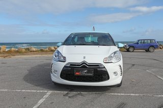 2010 Citroen DS3 DStyle White 4 Speed Sports Automatic Hatchback.