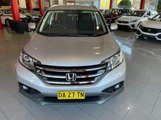 2013 Honda CR-V RM VTi-S 4WD Silver 5 Speed Automatic Wagon.