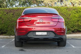 2018 Mercedes-Benz GLC-Class C253 808MY GLC43 AMG Coupe 9G-Tronic 4MATIC Hyacinth Red 9 Speed