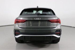 2020 Audi Q3 F3 MY21 35 TFSI S Line Chronos Grey 6 Speed Auto Steptronic Sportback