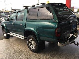 2000 Toyota Hilux KZN165R SR5 (4x4) Green 5 Speed Manual 4x4 Dual Cab Pick-up