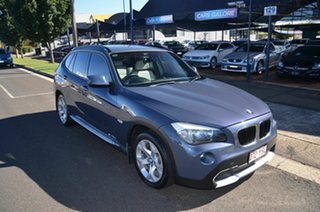 2010 BMW X1 E84 sDrive 20D Blue 6 Speed Automatic Wagon.