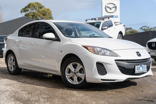 2013 Mazda 3 BL10F2 MY13 Neo Activematic Crystal White Pearl 5 Speed Sports Automatic Sedan.