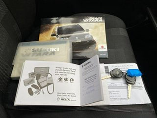 2008 Suzuki Grand Vitara JB MY09 Silver 5 Speed Manual Hardtop