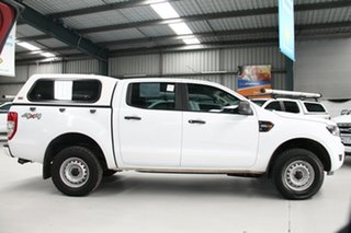 2018 Ford Ranger PX MkII MY17 Update XL 2.2 (4x4) White 6 Speed Automatic Crew Cab Utility