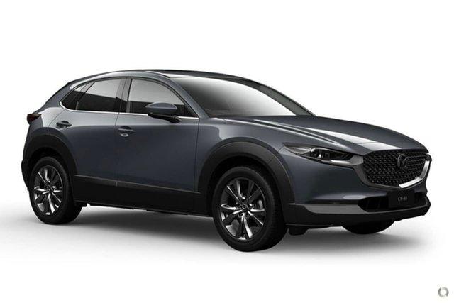 New Mazda CX-30 DM2W7A G20 SKYACTIV-Drive Astina Waitara, 2021 Mazda CX-30 DM2W7A G20 SKYACTIV-Drive Astina Grey 6 Speed Sports Automatic Wagon