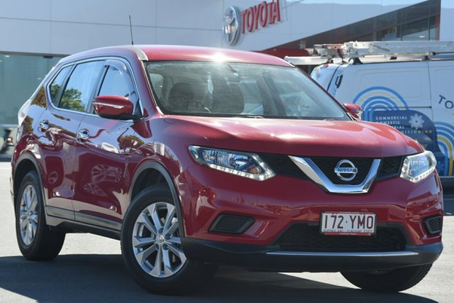 Pre-Owned Nissan X-Trail T32 ST X-tronic 2WD Woolloongabba, 2016 Nissan X-Trail T32 ST X-tronic 2WD Red 7 Speed Constant Variable Wagon