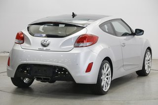 2013 Hyundai Veloster FS2 + Coupe D-CT Sleek Silver 6 Speed Sports Automatic Dual Clutch Hatchback