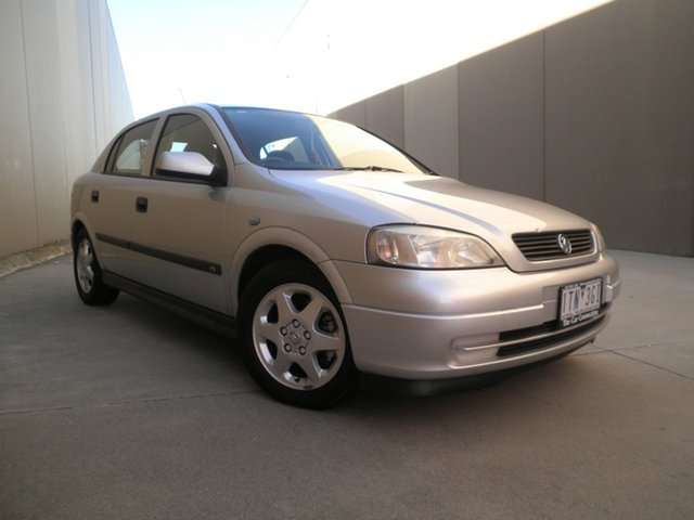 Used Holden Astra TS CD Cheltenham, 2001 Holden Astra TS CD Silver Mint 4 Speed Automatic Hatchback