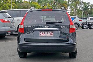 2009 Hyundai i30 FD MY09 SX cw Wagon Black Pearl 4 Speed Automatic Wagon