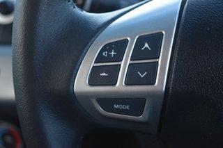 2011 Mitsubishi Lancer CJ MY11 SX Black 6 Speed Constant Variable Sedan