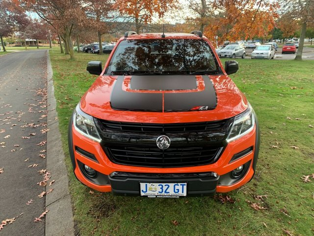 Used Holden Colorado RG MY19 Z71 Pickup Crew Cab Launceston, 2019 Holden Colorado RG MY19 Z71 Pickup Crew Cab Orange 6 Speed Sports Automatic Utility