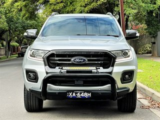 2018 Ford Ranger PX MkIII 2019.00MY Wildtrak Aluminium 6 Speed Sports Automatic Utility.