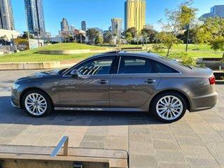 2015 Audi A6 4G MY16 S Line S Tronic Grey 7 Speed Sports Automatic Dual Clutch Sedan