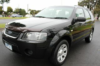 2008 Ford Territory SY SR AWD Black 6 Speed Sports Automatic Wagon.