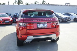2012 Land Rover Range Rover Evoque L538 MY12 Dynamic Red 6 Speed Manual Wagon