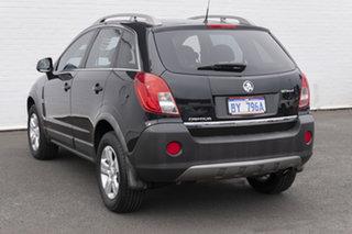 2012 Holden Captiva CG Series II 5 AWD Carbon Flash Black 6 Speed Sports Automatic Wagon.