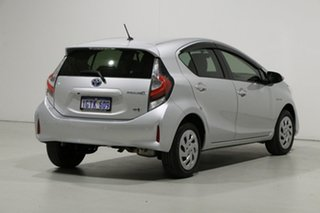 2019 Toyota Prius c NHP10R MY17 Hybrid Silver Continuous Variable Hatchback