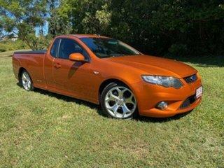 2011 Ford Falcon FG Upgrade XR6 Orange 6 Speed Auto Seq Sportshift Utility.