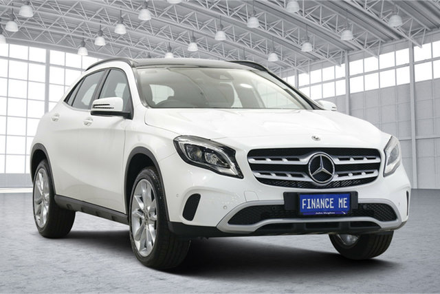 Used Mercedes-Benz GLA-Class GLA180 DCT Victoria Park, 2019 Mercedes-Benz GLA-Class GLA180 DCT White 7 Speed Sports Automatic Dual Clutch Wagon