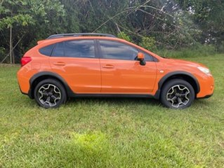 2012 Subaru Impreza MY11 XV (AWD) Orange 5 Speed Manual Hatchback.