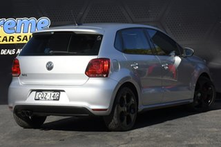 2012 Volkswagen Polo 6R MY12.5 GTI DSG Silver 7 Speed Sports Automatic Dual Clutch Hatchback