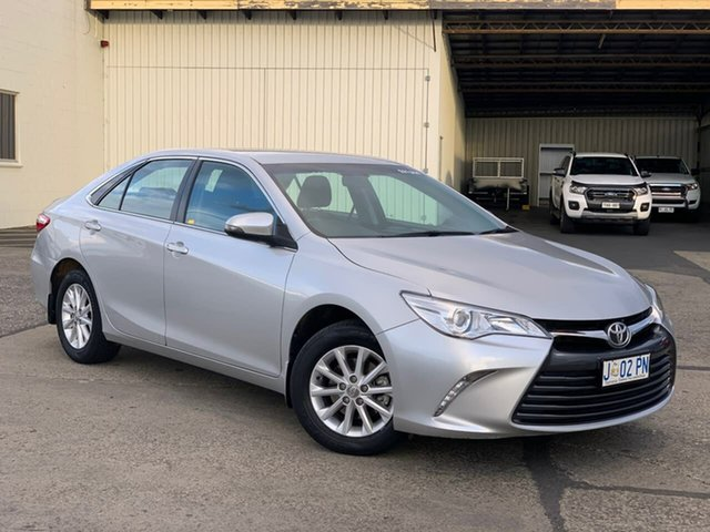 Used Toyota Camry ASV50R Altise Moonah, 2017 Toyota Camry ASV50R Altise Silver 6 Speed Sports Automatic Sedan