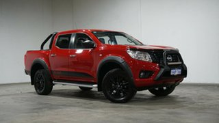 2018 Nissan Navara D23 S3 ST Black Edition Red 7 Speed Sports Automatic Utility.