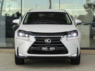 2017 Lexus NX AGZ10R NX200t 2WD Luxury White 6 Speed Sports Automatic Wagon.