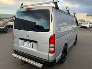 2012 Toyota HiAce KDH201R MY12 LWB Silver 5 Speed Manual Van.