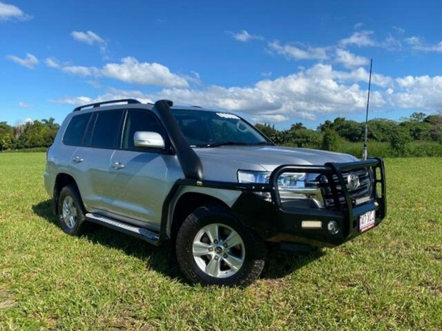 Pre-Owned Toyota Landcruiser VDJ200R MY16 GXL (4x4) Atherton, 2016 Toyota Landcruiser VDJ200R MY16 GXL (4x4) Silver Pearl 6 Speed Automatic Wagon