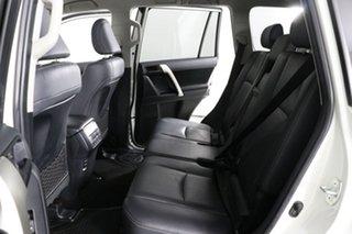 2018 Toyota Landcruiser GDJ150R MY18 Prado GXL (prem Int) (4x4) Pearl White 6 Speed Automatic Wagon