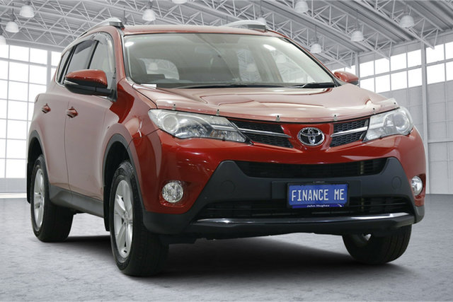 Used Toyota RAV4 ZSA42R GXL 2WD Victoria Park, 2013 Toyota RAV4 ZSA42R GXL 2WD Red 7 Speed Constant Variable Wagon