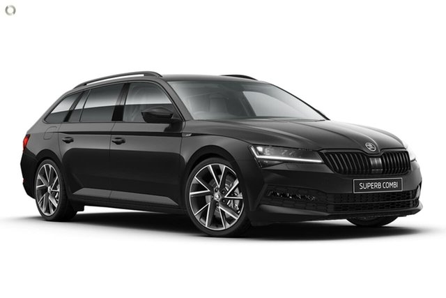New Skoda Superb NP MY21 206TSI DSG SportLine Seaford, 2020 Skoda Superb NP MY21 206TSI DSG SportLine Black 6 Speed Sports Automatic Dual Clutch Wagon