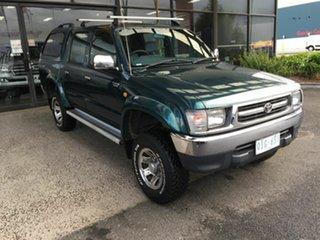 2000 Toyota Hilux KZN165R SR5 (4x4) Green 5 Speed Manual 4x4 Dual Cab Pick-up.