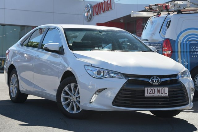 Pre-Owned Toyota Camry ASV50R Altise Woolloongabba, 2016 Toyota Camry ASV50R Altise White 6 Speed Sports Automatic Sedan