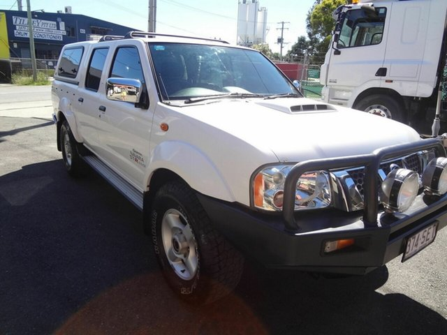 Used Nissan Navara D22 Series 5 ST-R (4x4) Coopers Plains, 2012 Nissan Navara D22 Series 5 ST-R (4x4) White 5 Speed Manual Dual Cab Pick-up
