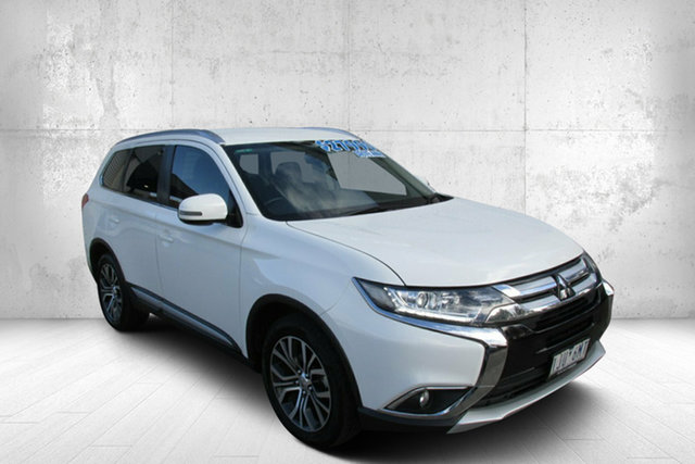 Used Mitsubishi Outlander ZK MY17 LS 2WD Bendigo, 2017 Mitsubishi Outlander ZK MY17 LS 2WD White 6 Speed Constant Variable Wagon