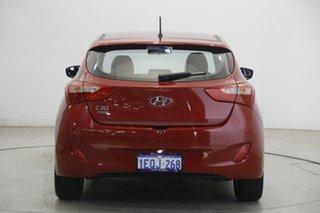 2014 Hyundai i30 GD2 MY14 Trophy Brilliant Red 6 Speed Sports Automatic Hatchback