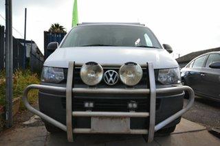 2012 Volkswagen Transporter T5 MY12 TDI 340 SWB Low White 7 Speed Auto Direct Shift Van